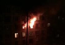 Четверо детей пострадали при пожаре в выселенном доме №7 на улице Институтская в городском поселении Менделеево Солнечногорского района Подмосковья