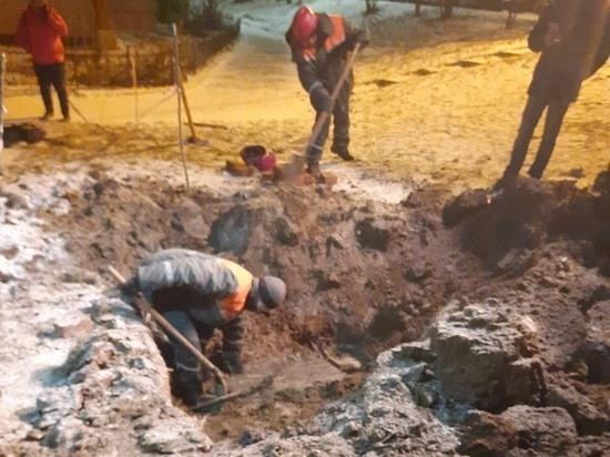 В Чебоксарах устранили аварию, оставившую без тепла десятки жилых домов