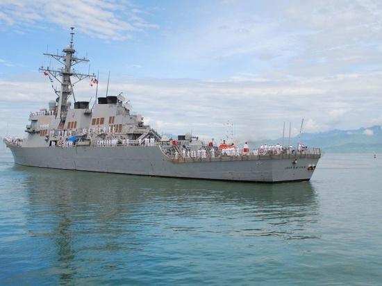 Командование Седьмого флота США прокомментировало инцидент на Дальнем Востоке, где едва не произошел конфликт с участием американского эсминца «Джон Маккейн» и российским большим противолодочным кораблем «Адмирал Виноградов»
