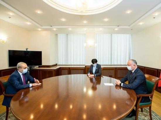 Игорь Додон: Развитие молдавско-армянского диалога продолжается