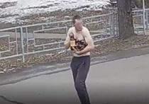 Полицейские Абакана установили личность полуголого похитителя пива