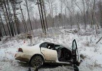 В пригороде Братска в ДТП погибли три человека