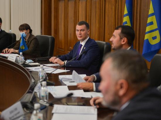 Погорячились: Михаил Дегтярёв вернул «беглых» депутатов Думы Хабаровска