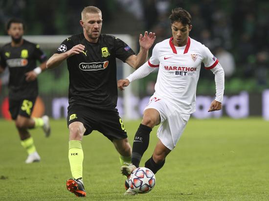 «Быки» проиграли «Севилье» и потеряли шансы на выход в плей-офф Лиги чемпионов