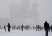 На Москву идет циклон