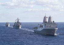 США и РФ сыграли в морской бой, пока только словесный