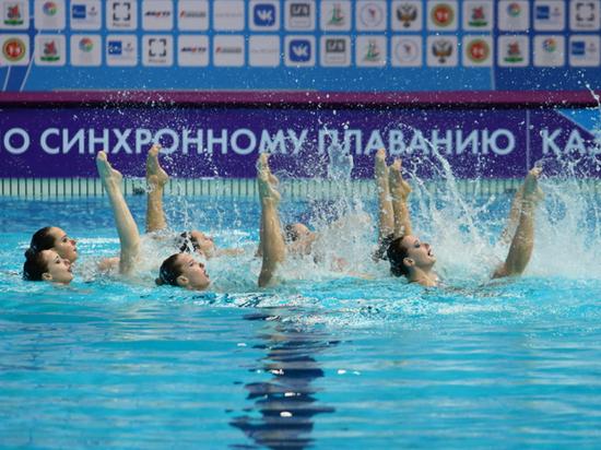 В Казани начался Чемпионат РФ по синхронному плаванию