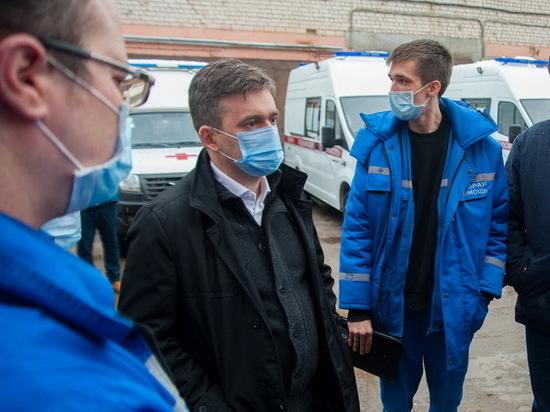 В Ивановскую область приехали новые автомобили скорой помощи