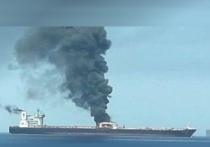 Танкер подорвался на мине в Красном море
