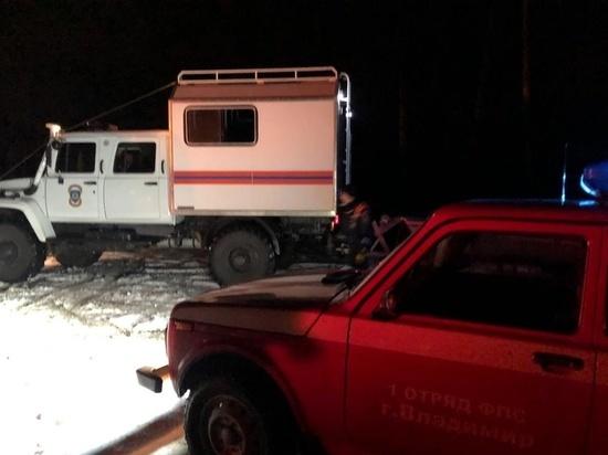 На озере в Петушинском районе провалился под лед и погиб рыбак