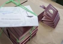 Украина отказалась признавать часть паспортов России