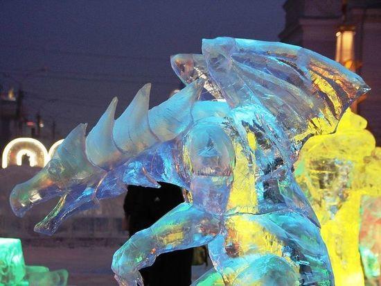 Конкурс ледовых скульптур объявили в Чите