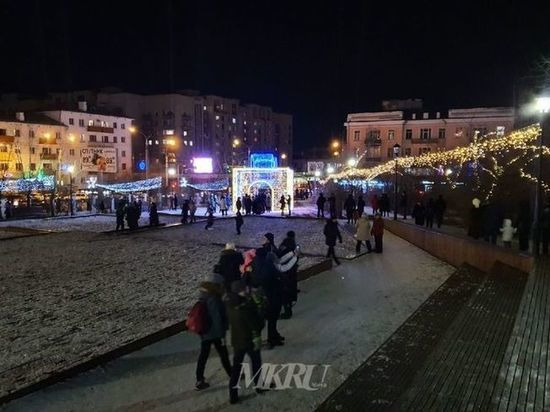 Скверы и площади Читы украсят в сказочном стиле к Новому году