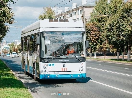 Власти Чебоксар запустили опрос об изменении семи троллейбусных маршрутов