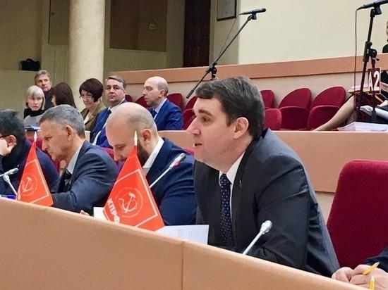 Александр Анидалов занял кресло председателя Саратовской областной думы