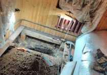 Старинное захоронение обнаружил житель подмосковного поселка Звягино прямо у себя … в доме
