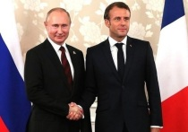 Российское руководство возмущено утечкой во французские СМИ содержания разговора российского президента Владимира Путина и его французского коллеги Эммануэля Макрона, сообщает «Коммерсантъ» со ссылкой на дипломатический источник
