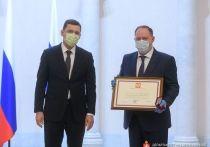 Куйвашев вручил государственные награды врачам Екатеринбурга