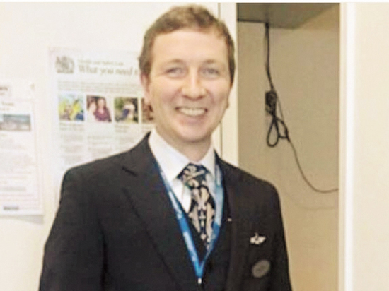 Арестованный по подозрению в госизмене представитель «Аэрофлота» в Великобритании Дмитрий Федоткин при задержании едва не лишился зрения