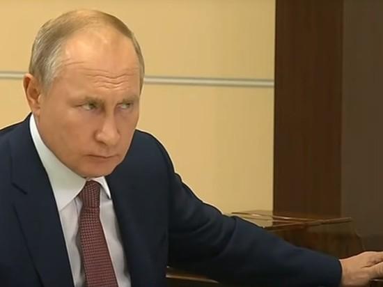 Путин рассказал о риске экологической катастрофы в Иркутской области