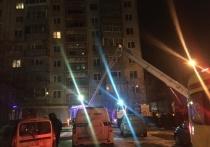 В Екатеринбурге из пожара с помощью подъемника с 9-го этажа спасли двух человек