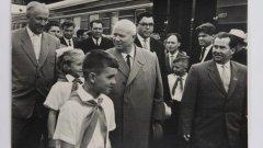 Как Никиту Хрущева встречали в Петрозаводске