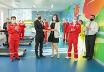 На серпуховской фабрике «Маревен» для сотрудников открыли современный фитнес-центр