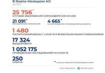 На Ямале COVID-19 диагностировали еще у 199 человек