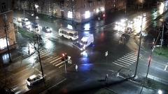 Карета скорой помощи попала в ДТП в Петрозаводске