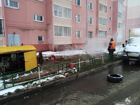В Иванове устраняют крупную аварию на теплотрассе