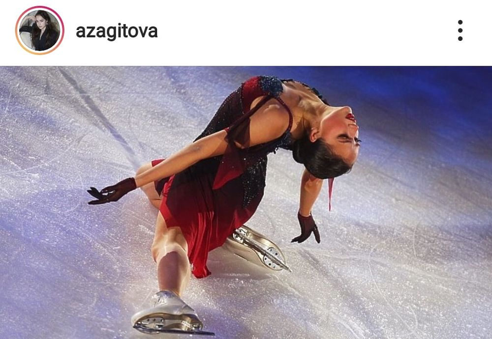 Алина Загитова тренируется с Авербухом и продюсирует сама себя: лучшие фото