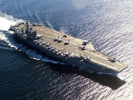 США отправили авианосец в Персидский залив