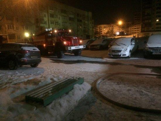10-этажка горела ночью в Иркутске