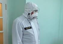 Игорь Греков пообщался с пациентами рязанских ковид-центров