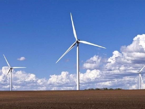 В калмыцком районе к генерации электроэнергии приступил ветропарк