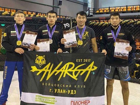 Бойцы ММА из Улан-Удэ  завоевали 4 «золота» и 2 «серебра» на международном турнире в Москве