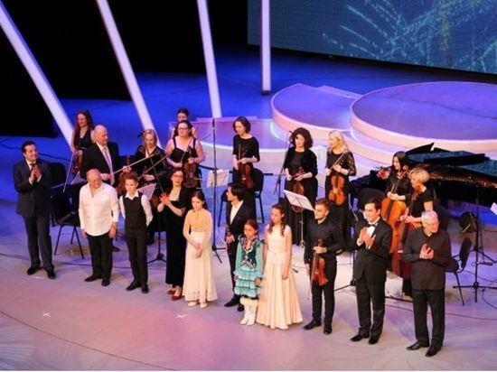 Одаренные дети выступили с главным оркестром Башкирии