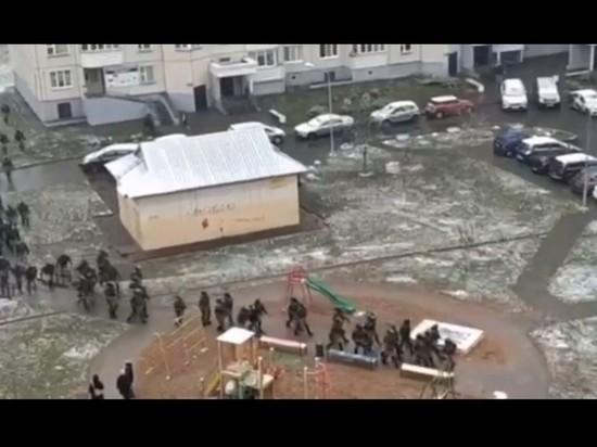В Минске в воскресение силовики начали разгон локальных акций протеста и задержания