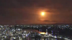 Пролетевший над Японией болид сняли на видео