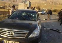 """По данным иранского агентстваFars, ученый Мохсен Фахризаде, которого называют """"отцом ядерной бомбы Ирана"""", был убит из автоматического оружия с дистанционным управлением"""