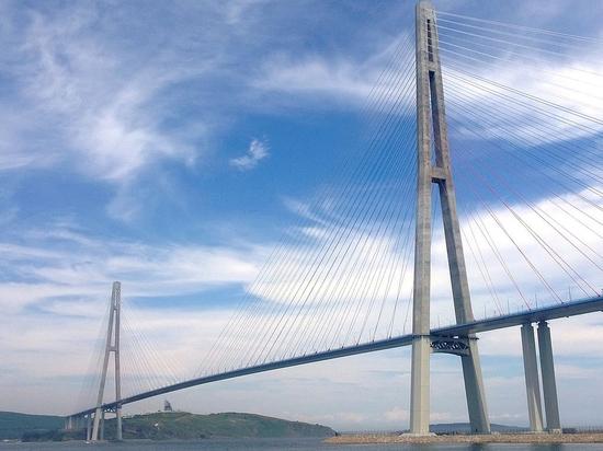 Открытие движения по мосту на остров Русский перенесли