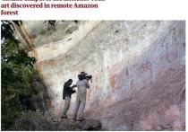 Археологи назвали 12-километровый скальный массив «Сикстинской капеллой древних»