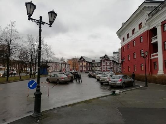 Автостоянку ликвидируют у гостиницы «Северная» в Петрозаводске