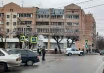 ДТП с полицейской машиной в центре Рязани попало на видео