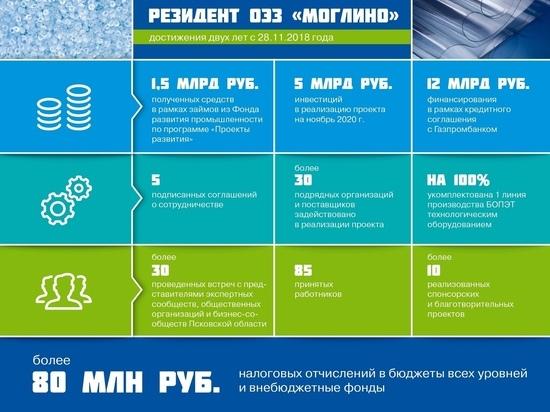"""30 компаний строят и оснащают псковский """"Титан-Полимер"""""""