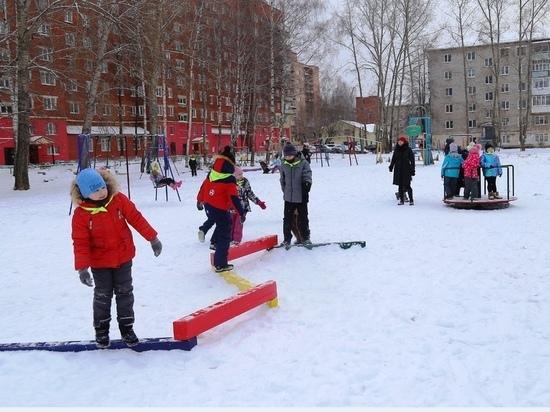 Новая детская площадка появилась в Ижевске