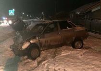 В аварии в Башкирии пострадали трое человек