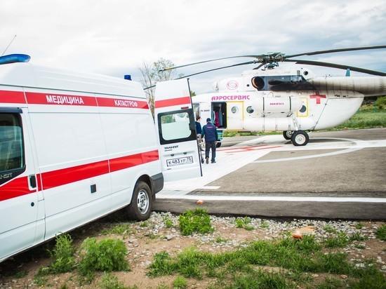 Успеть спасти: пандемия заставила крылатые скорые Забайкалья пойти на рекорд