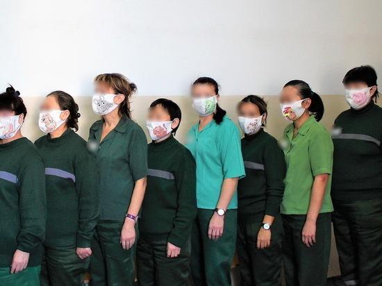 В женской колонии Бурятии прошел конкурс защитных масок от коронавируса