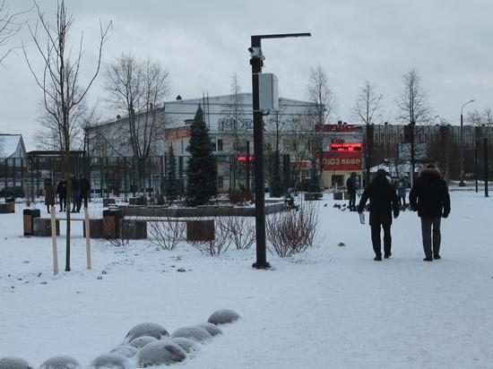 Завершение работ в сквере Грачёва в Архангельске до сих пор под вопросом